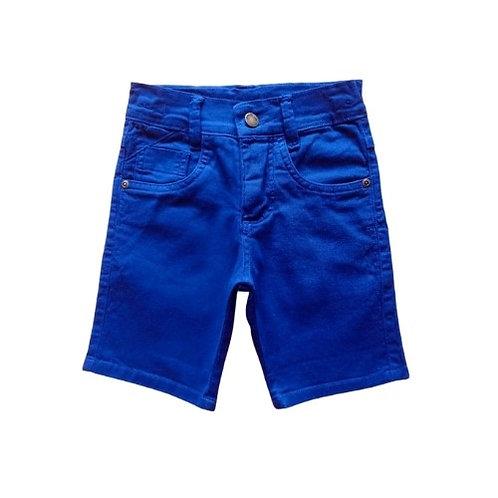 Bermuda Infantil Masculina - Azul