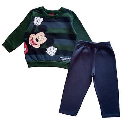 Conjunto Infantil Masculino - Mickey - Tricolor - Cativa