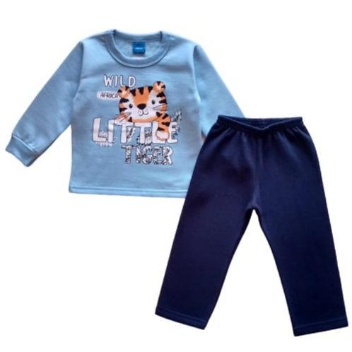 Conjunto Infantil Masculino - Tigre - Azul - WRK