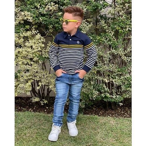 Conjunto Infantil Masculino - Azul