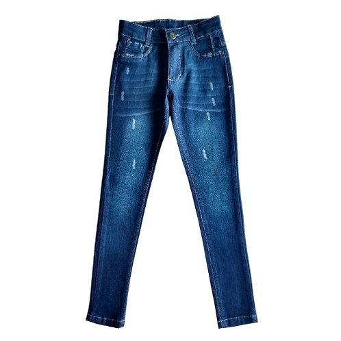 Calça Jeans Infantil Feminina - Azul