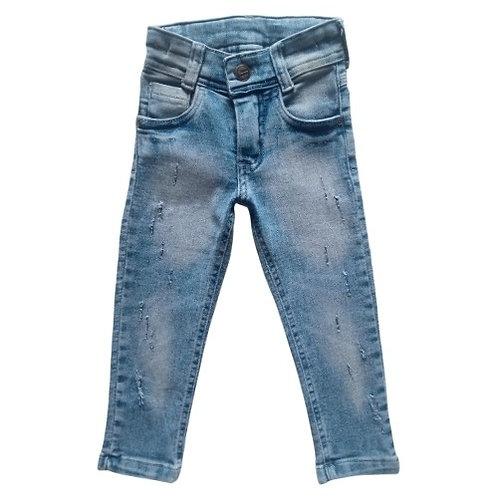 Calça Jeans Infantil Masculina - Marmorizada