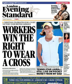 Commissioning Editor, the Standard