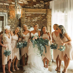Sherri and her bridesmaids