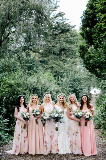 Shay and Bridesmaids