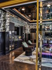 Glass Wine Tasting Room