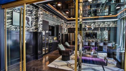 Custom Mirrors Wine Las Vegas