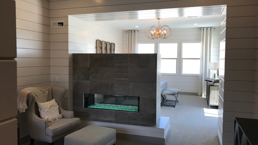master bedroom gas fireplace