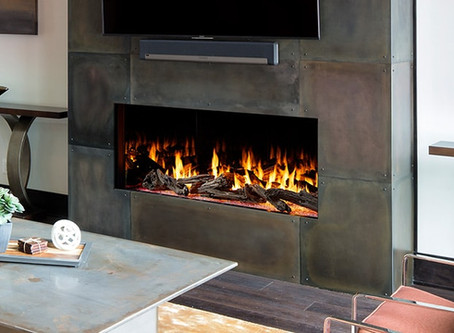 The Foundation Series Luxury Gas Fireplace from Heat & Glo is a Masterpiece