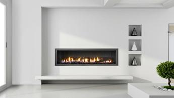 heat & glo mezzo gas fireplace in vegas