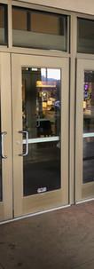 storefront door install