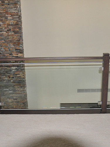Custom Glass Railing