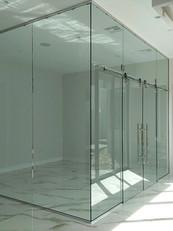 Custom Glass Office