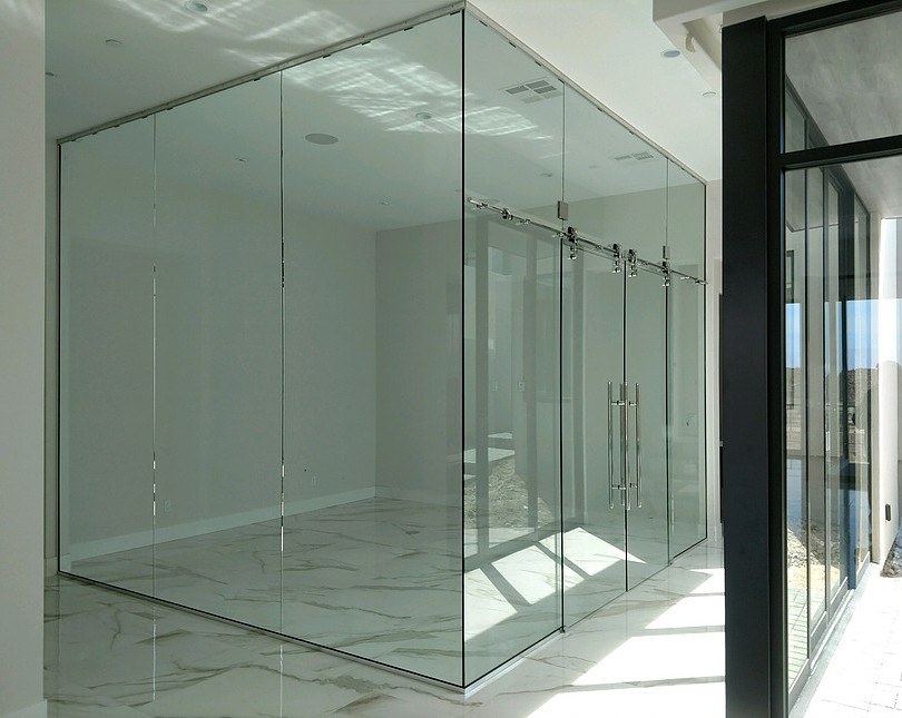 Custom Glass Office