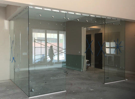 Glass Partitions Offer Countless Options For Office & Room Design