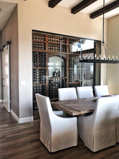 Vista Butte Glass Wine Cellar