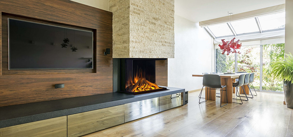 electric fireplace hearth
