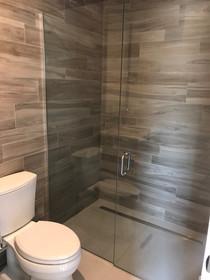 installing a custom shower