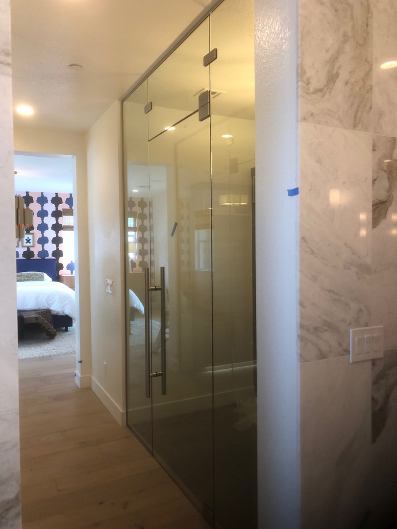 Custom Glass Closet