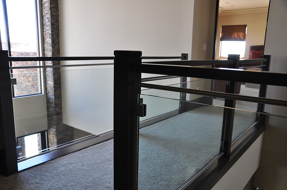 glass railing cost