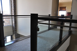 glass railing cost