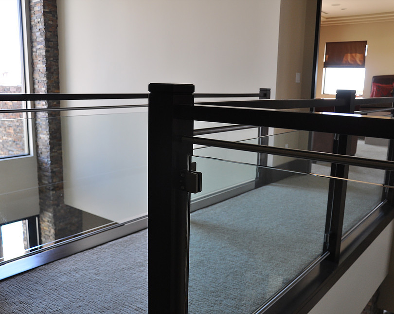 Glass Railing Installation