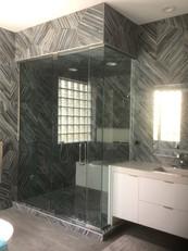 Custom Shower Enclosure Glass