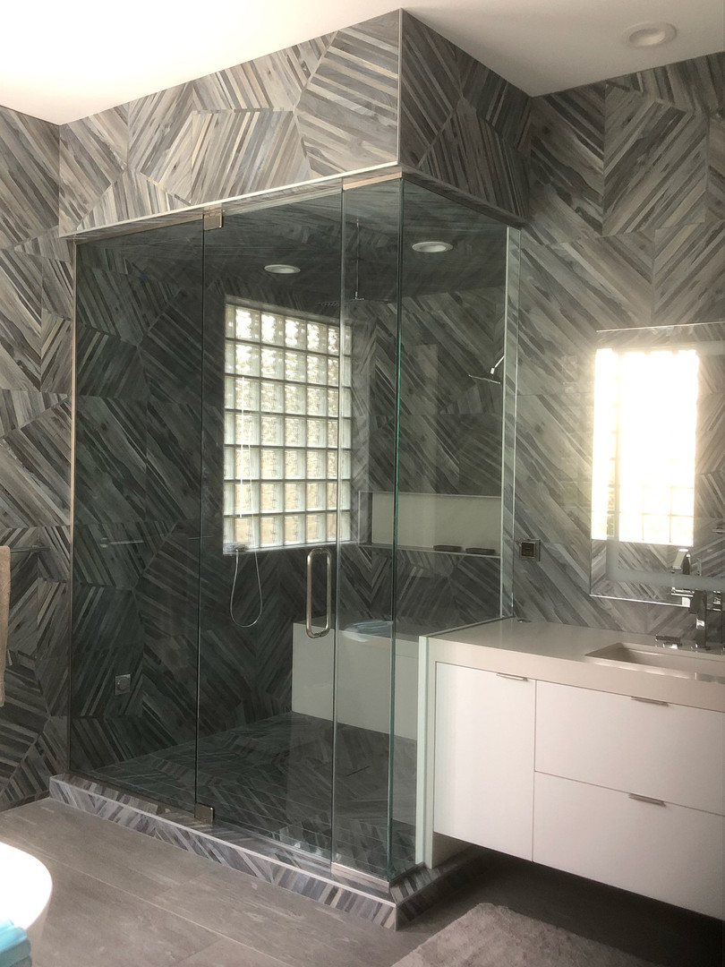 Custom Shower Enclosure Glass