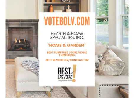Vote Hearth & Home Specialties, Inc. To Win Best Of Las Vegas!