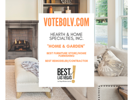 Vote Hearth & Home Specialties, Inc. To Win Best Of Las Vegas!