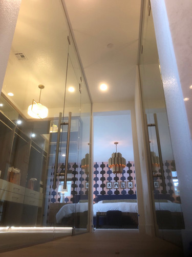 Glass Closet Partition