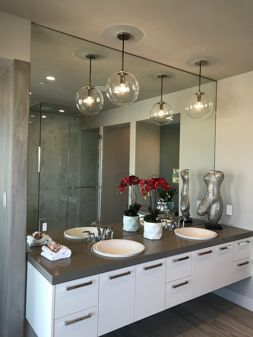 Glass Bathroom Mirrors