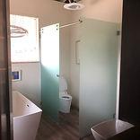 residential custom toilet partition