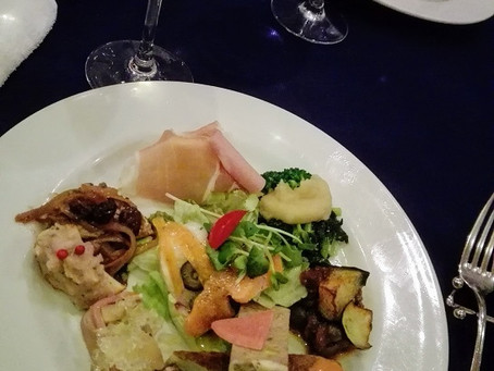 元教え子と食事をしてきました。