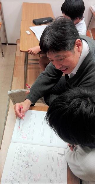 杉中先生算数の授業