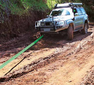 4WD and offraod saftey, recovery, scurity and towing gear