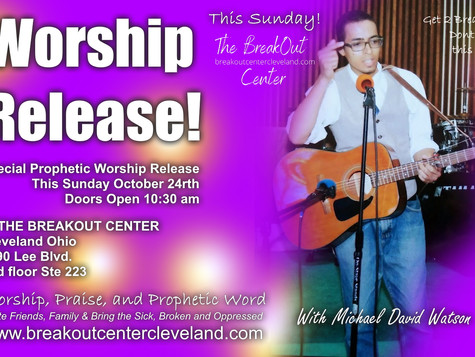 Worship Release! This Sunday 10:30am
