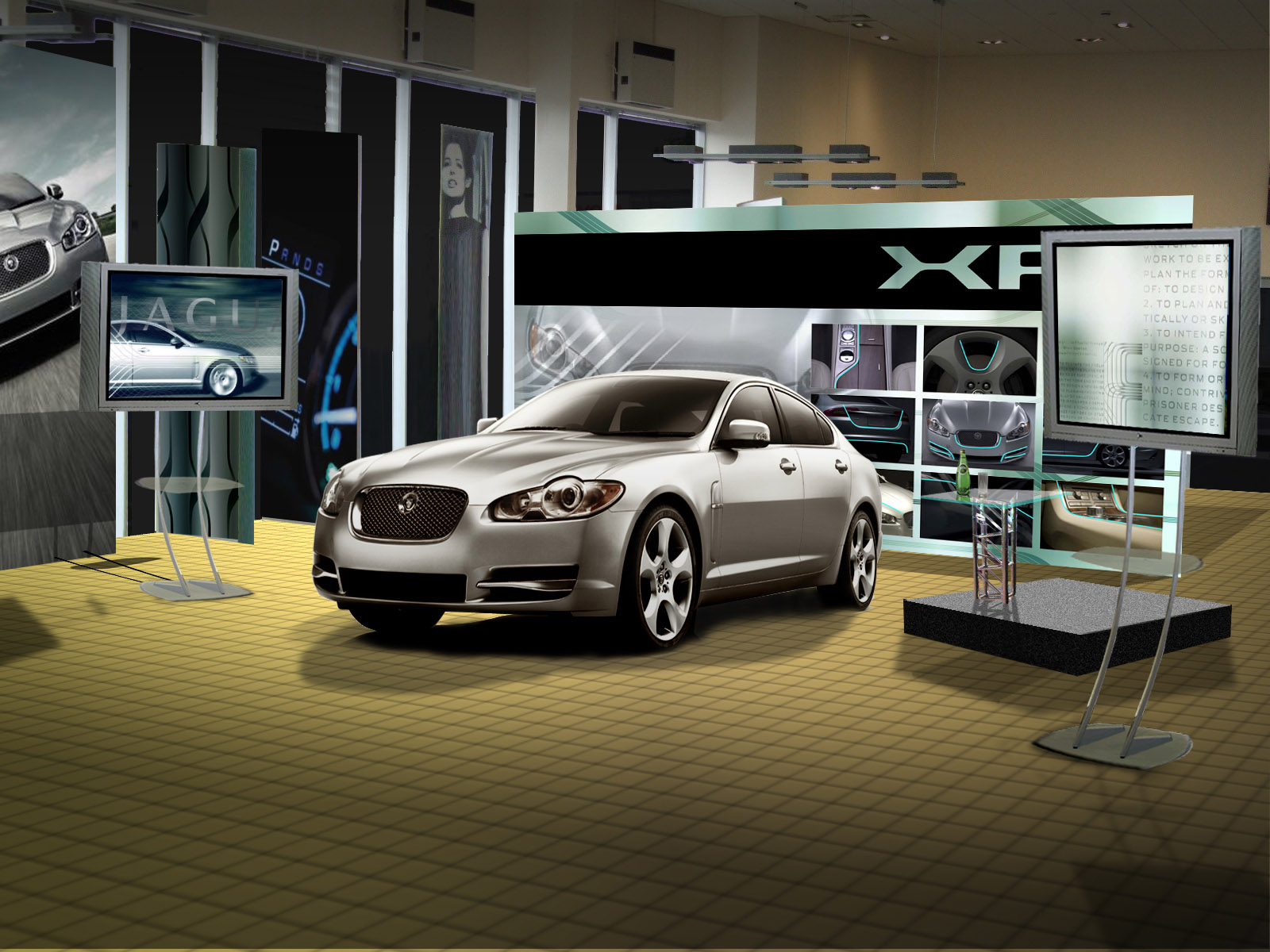 Jaguar XF Visual Lit Full v1