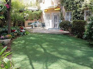 Jerusalem - Old Katamon - large garden.j