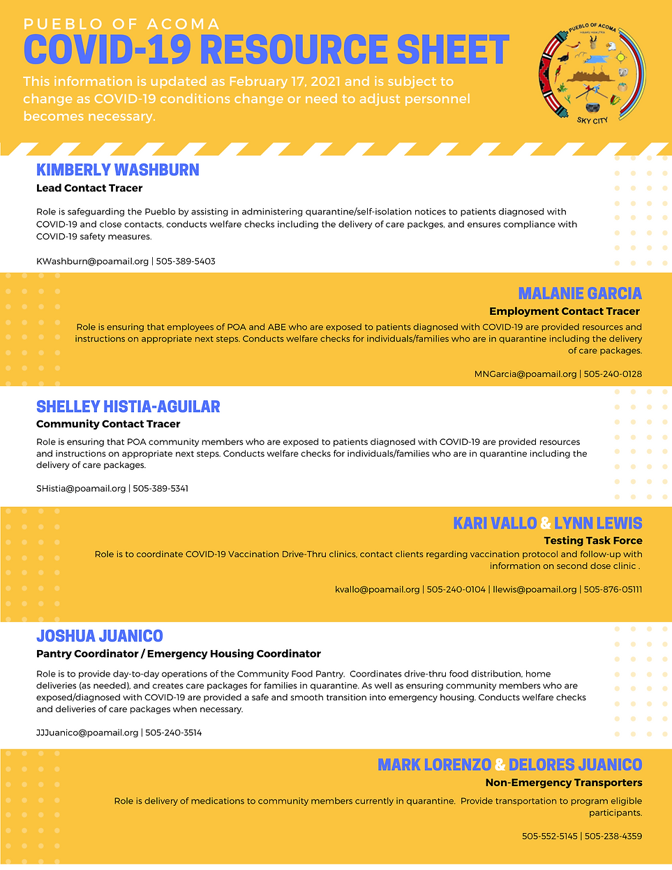 Copy of Yellow Dots Travel Business Info