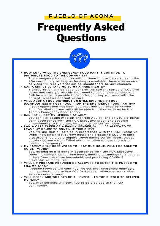 POA FAQS