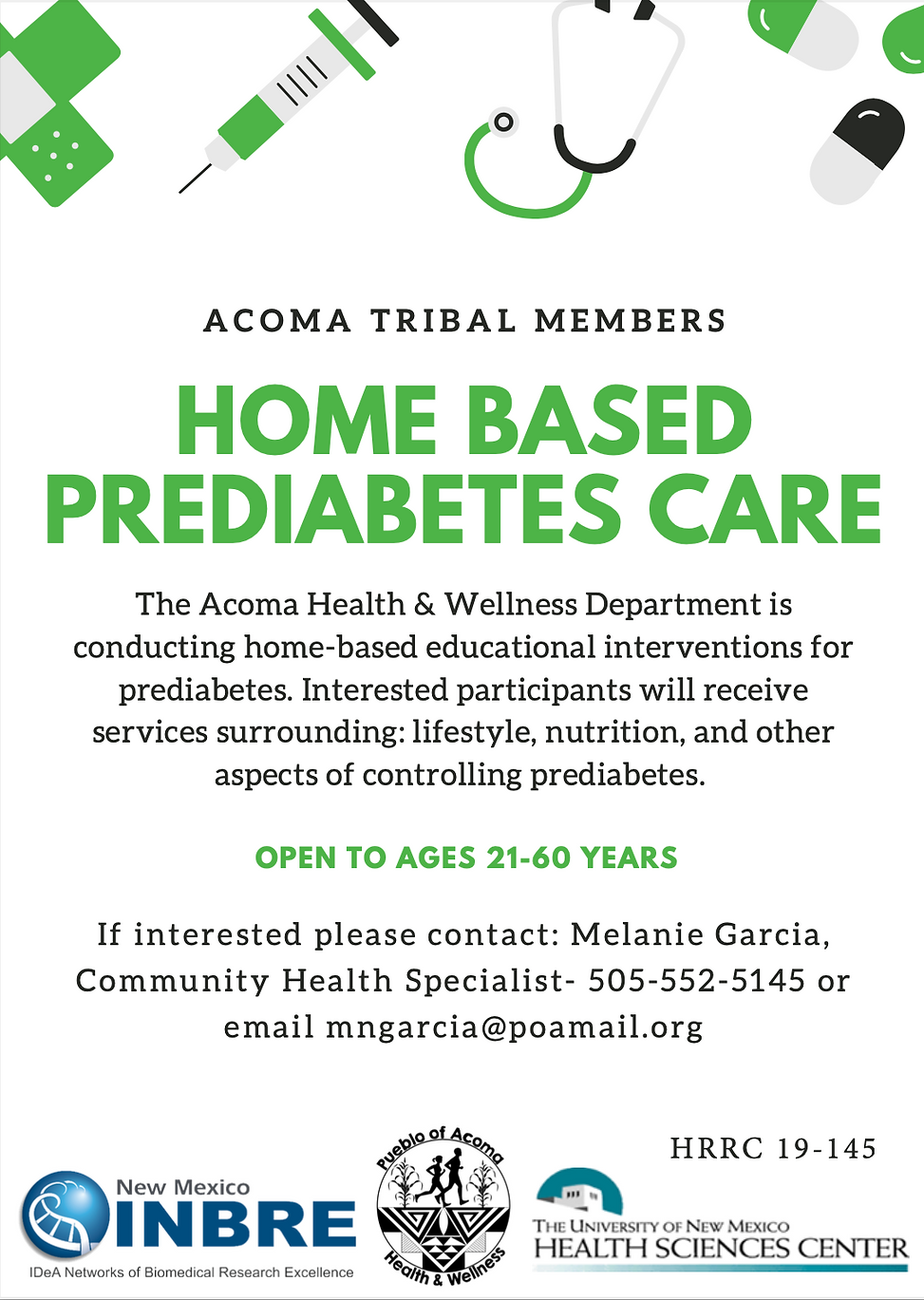 Home Based Pre Diabetes Care