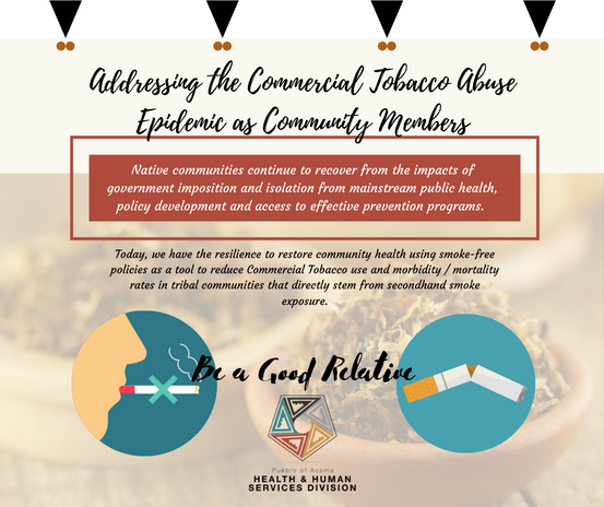 Addressing the Commercial Tobacco Abuse Epidemic as Community Members
