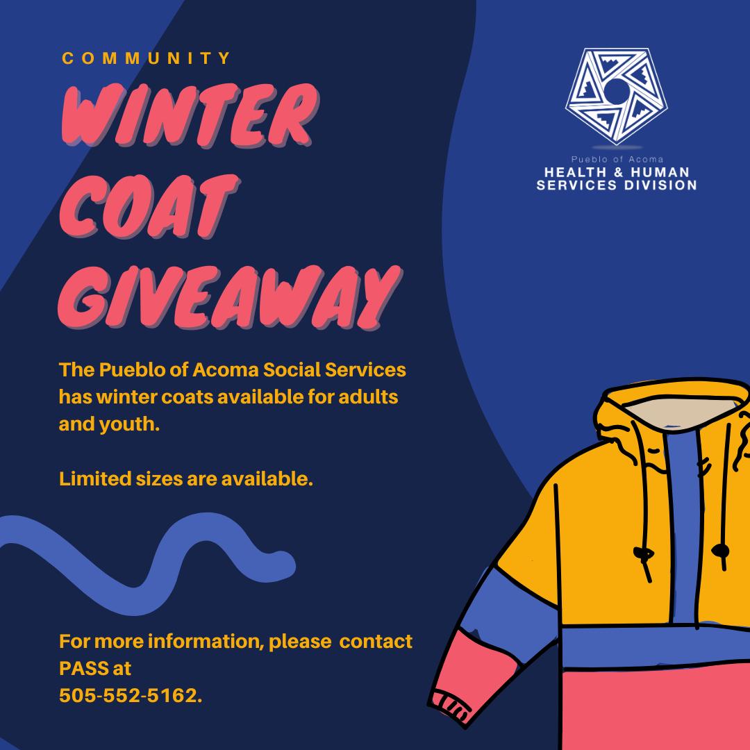 PASS Winter Coat Giveaway