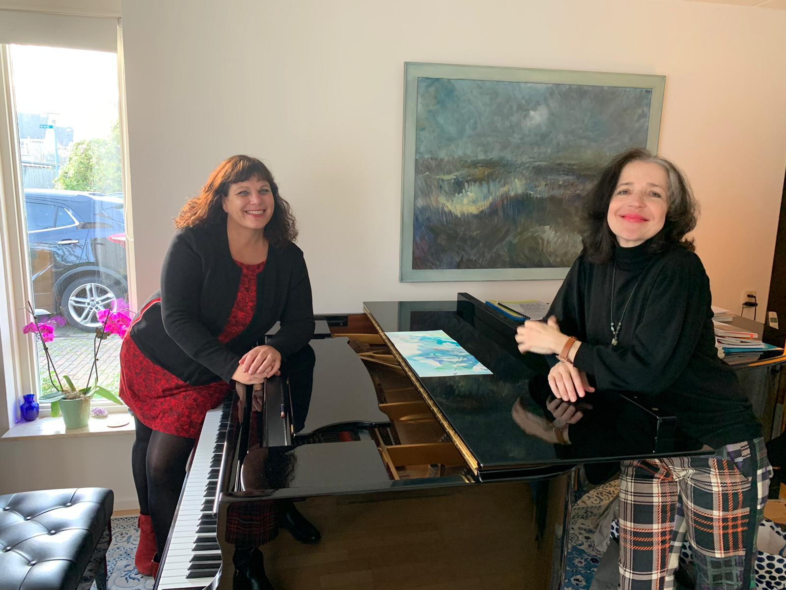 Samen met Marietta Petkova