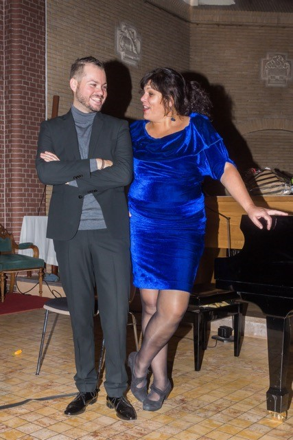 Eveline & Alberto na concert