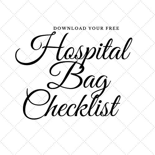 My Hospital Bag Checklist