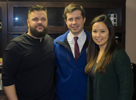 Mayor Pete Buttigieg Joined The South Bend Beat Podcast