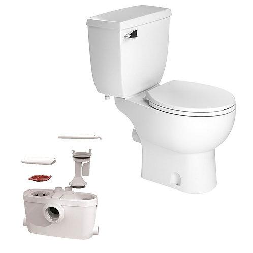 SaniACCESS3 Macerating Upflush Toilet