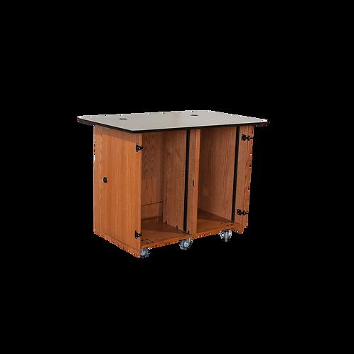49: Dual Rack Instructor Cart